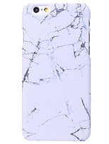 abordables -Para iPhone X iPhone 8 iPhone 6 iPhone 6 Plus Carcasa Funda Other Cubierta Trasera Funda Mármol Dura Policarbonato para Apple iPhone X