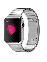 cheap -Watch Band For Apple Watch 3 38mm 42mm Stainless Steel Bracelet Butterfly Buckle with Connector