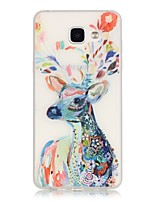 cheap -Deer TPU Material Glow in the Dark Soft Phone Case for Samsung Galaxy A310/A510(2016)