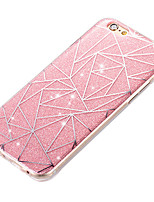 cheap -New Acrylic Luxury Creative Diamond Lattice IMD Flash Powder Cases for iPhone5/5S/SE/6/6s/6 Plus/6S Plus