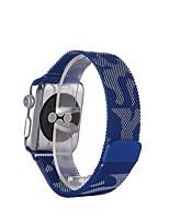 preiswerte -Milanese Schlaufe für Apfel Uhr 38mm 42mm Edelstahl Ersatz Uhrenarmband