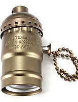 Недорогие -1 ед. E27 Коннектор лампы Алюминий