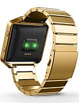 abordables -Negro / Rose / Dorado / Plata Metal Hebilla Clásica Para Fitbit Reloj 23mm