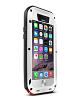 Original LOVE MEI Gorilla Glass Metal Waterproof Case Cover for iPhone 6S
