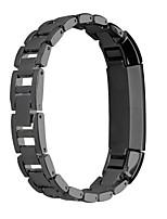 Недорогие -Черный / Розовый / Роуз / Золотистый / Серебристый Нержавеющая сталь Классическая застежка Для Fitbit Смотреть 10mm