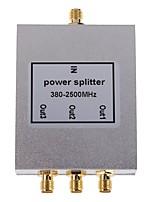 Divisore di potenza 3-way sma 380-2500mhz per ripetitore di ripetitore del segnale di telefono cellulare