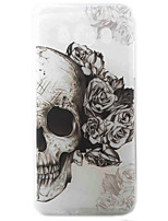 cheap -Skull Pattern Material TPU Phone Case for Samsung Galaxy J3 J5 J7 J1(2016) J510 J710 G530