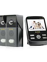 kivos® kdb303 беспроводной визуальный дверной звонок домой дверной звонок дистанционного управления камерой телефонный звонок