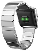 cheap -Stainless Steel Metal Link Smart Watch Strap Classic Style Metal Watchband for Fitbit Blaze