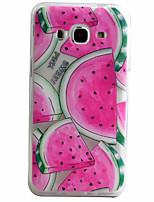 preiswerte -Für Samsung Galaxy Hülle Muster Hülle Rückseitenabdeckung Hülle Frucht Weich TPU Samsung J5 (2016) / J5 / J3 (2016)