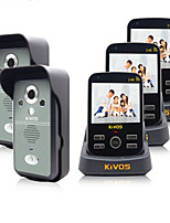 KiVOS KDB300 Wireless Home Doorbell with Photograph Videotape Unlock
