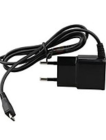 kit carregador eu plug carregador portátil carregador portátil com cabo para iphone 8 7 samsung s8 s7 (5v1a)