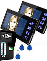 960*480 120 CMOS Sistema de campainha Sem Fios Campainha de vídeo multifamiliar