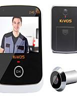 kivos kdb307 бытовой визуальный интеллектуальный электронный контроль камеры глаза дверь противоугонных