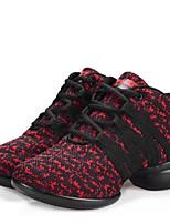 """economico -Da donna Danza moderna Sintetico Sneaker Mezzepunte All'aperto Con lacci Basso Nero Grigio Rosso 1 """"- 1 3/4"""" Non personalizzabile"""