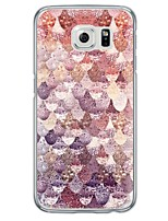 cheap -Beautiful Marble Pattern Soft Ultra-thin TPU Back Cover For Samsung GalaxyS7 edge/S7/S6 edge/S6 edge plus/S6/S5/S4