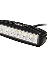 cheap -KAWELL 18W 6.2 90 Degree LED for ATV/Jeep/Boat/Suv/Truck/Car/Atvs Light Off Road Light Bar