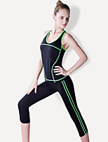 cheap -Women's Yoga Tracksuit Breathable Quick Dry Compression Comfortable High Elasticity Sports Wear Suits