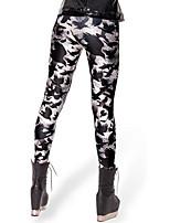 cheap -Women's Print Sporty Legging Animal Print Black S M L / Skinny
