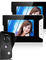 960*480 120 CMOS système sonnette Sans fil Sonnette vidéo Multifamilial