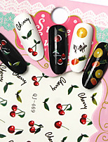 cheap -Fashion DIY Designer Water Transfer Nails Art Sticker Hawaii Fruit Party Fashion Nail Decal