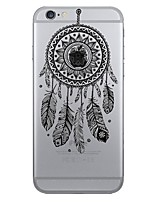 economico -Custodia Per Apple iPhone X iPhone 8 iPhone 6 iPhone 7 Plus iPhone 7 Fantasia/disegno Per retro Cacciatore di sogni Morbido TPU per