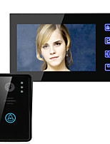 ENNIO 7 Video Door Phone Intercom System Doorbell Touch Button Remote Unlock Night Vision Security CCTV Camera