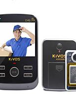 30万 120 CMOS Sistema de campainha Sem Fios Campainha de vídeo multifamiliar