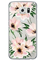 cheap -Watercolor Flower Pattern Soft Ultra-thin TPU Back Cover For Samsung GalaxyS7 edge/S7/S6 edge/S6 edge plus/S6/S5/S4