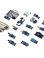 Eicoosi 16 In 1 Sensor Module Kit For Raspberry Pi 3B / 2B / B