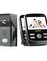 KiVOS® KDB303 Wireless Video Doorbell Home Waterproof Doorbell Camera Phone Call