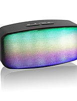 altoparlanti bluetooth senza fili 2.1 CH Portatile All'aperto Super Bass Supporto memory card Luce LED