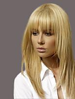 Недорогие -элегантный моды прямые парики человеческих волос для женщин