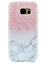 billige -Etui Til Samsung Galaxy S8 Plus S8 Mønster Bagcover Marmor Blødt TPU for S8 S8 Plus S7 edge S7 S5 Mini S5