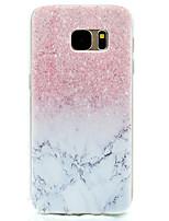 baratos -Capinha Para Samsung Galaxy S8 Plus S8 Estampada Capa Traseira Mármore Macia TPU para S8 S8 Plus S7 edge S7 S5 Mini S5