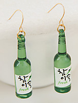 Women's Fashion Cute Classic Beer Bottle Earrings