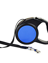 cheap -Dog Leash Automatic Solid Plastic Nylon Blue