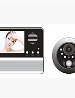 240*320 120 CMOS système sonnette Sans fil Sonnette vidéo Multifamilial