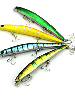 cheap -1 pcs Fishing Lures Vibration/VIB g / Ounce mm inch, Hard Plastic Bait Casting