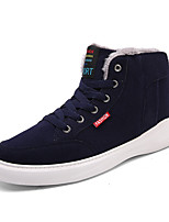 cheap -Men's Shoes Leatherette Winter Fall Comfort Sneakers For Casual Dark Green Blue Black