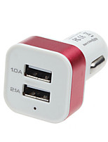 cheap -Multi Ports Car Charger Other 2 USB Ports Charger Only For iPad / For Cellphone / For Other Pad / For iPhone(5V , 3.1A)