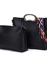 Donna Sacchetti Per tutte le stagioni PU (Poliuretano) sacchetto regola Set di borsa da 2 pezzi per Casual