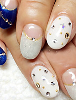 abordables -50 pcs Nail Art Design Moda Diario