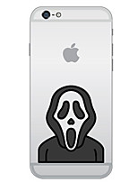 economico -Custodia Per Apple Custodia iPhone 5 iPhone 6 iPhone 7 Ultra sottile Fantasia/disegno Per retro Cartoni animati Morbido TPU per iPhone 7