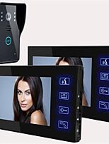 - 120 КМОП дверной системы Проводной Многоквартирные видео дверной звонок