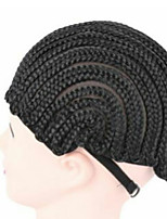 cheap -Comfortable High-grade Black Wig Cap Wig Caps For Making Wigs Hair Net Wig Accessories1pc
