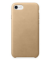 abordables -Para iPhone 8 iPhone 8 Plus iPhone 7 iPhone 7 Plus Carcasa Funda Antigolpes Cubierta Trasera Funda Color sólido Dura Silicona para Apple