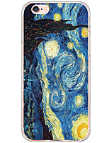 economico -Custodia Per Apple Custodia iPhone 5 iPhone 6 iPhone 6 Plus Fantasia/disegno Per retro Cielo Paesaggi Resistente TPU per iPhone 6s Plus