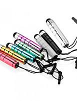 szkinston 8-i-1 kugle kapacitiv touch pen med anti-dusk plug metaller kapacitans pen til iPhone / iPod / iPad / Samsung og andre