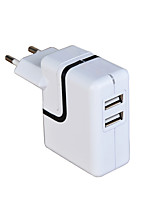 cheap -New Dual USB 21w 2-Port Universal USB Travel Quick Wall Fast Charger for iphone 8 7 Samsung galaxy s8 s7